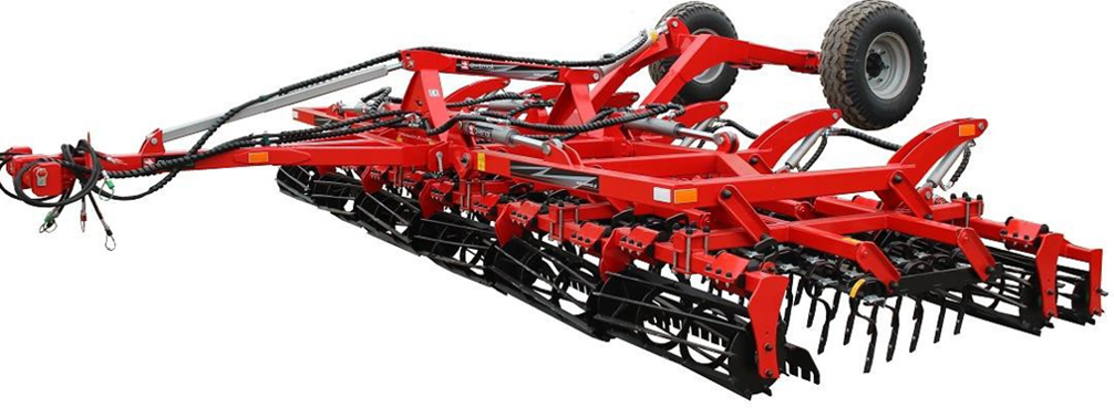 ONE PASS TINE COMBINATION CULTIVATOR