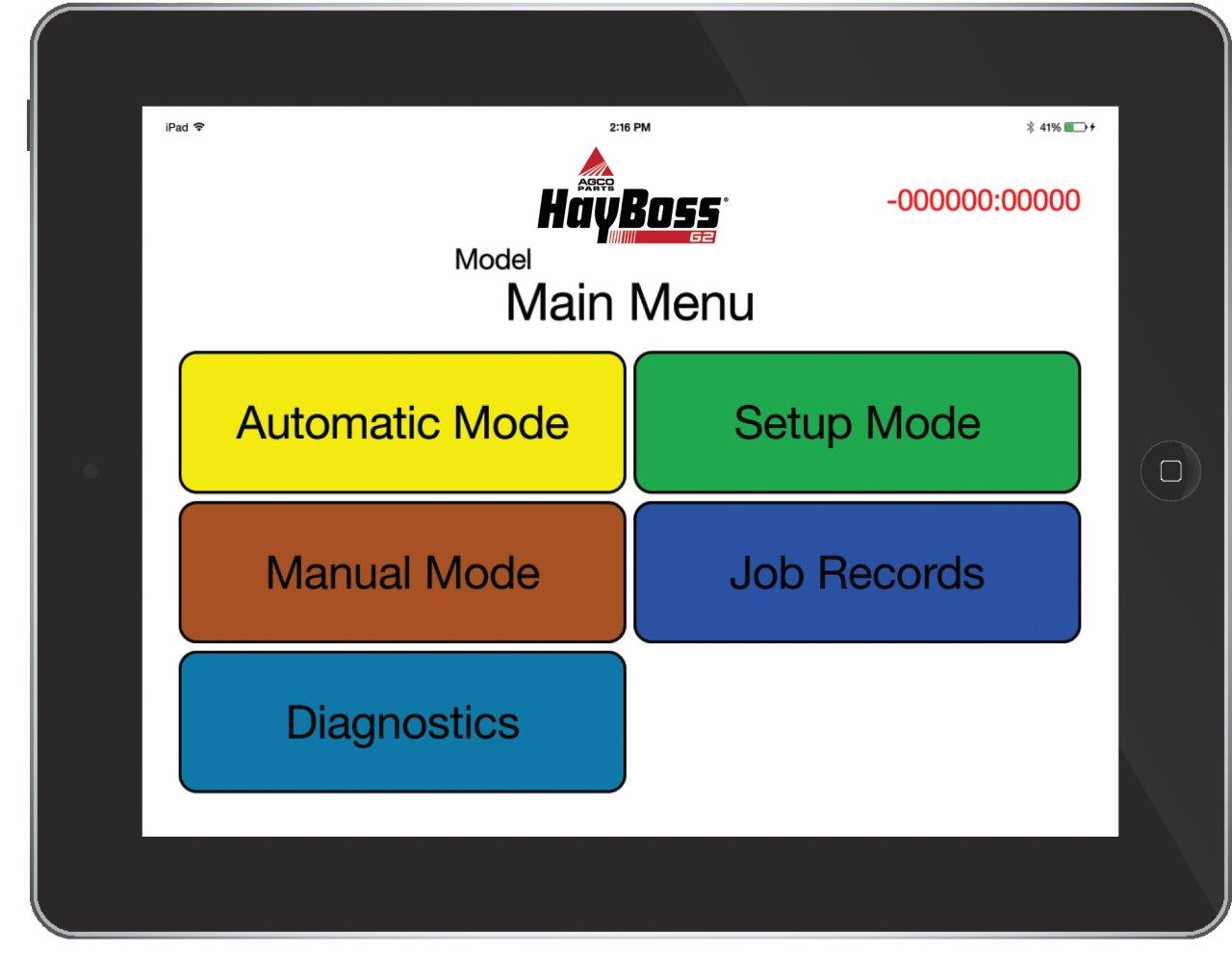 HayBoss IPad