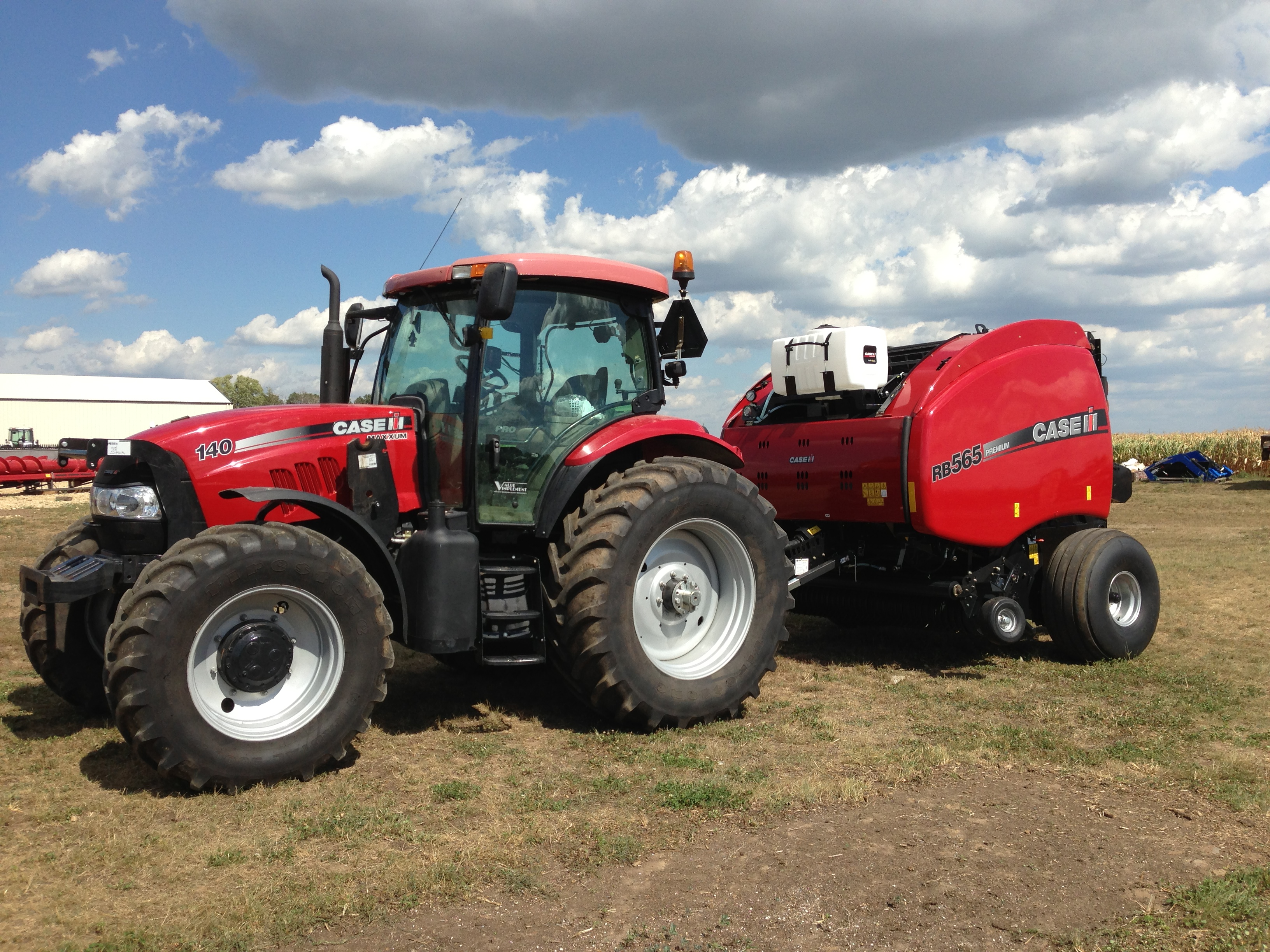 Case IH RB baler