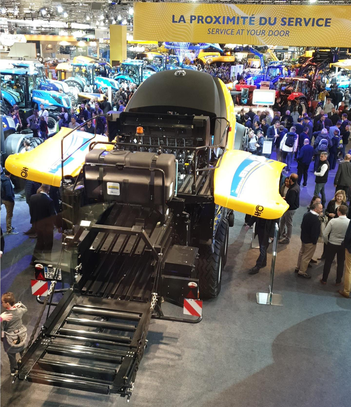 New Holland BigBaler at SIMA Paris Show 2019