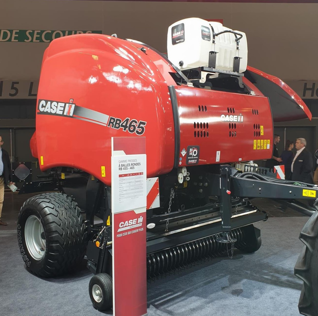 Case IH RB baler at SIMA 2019