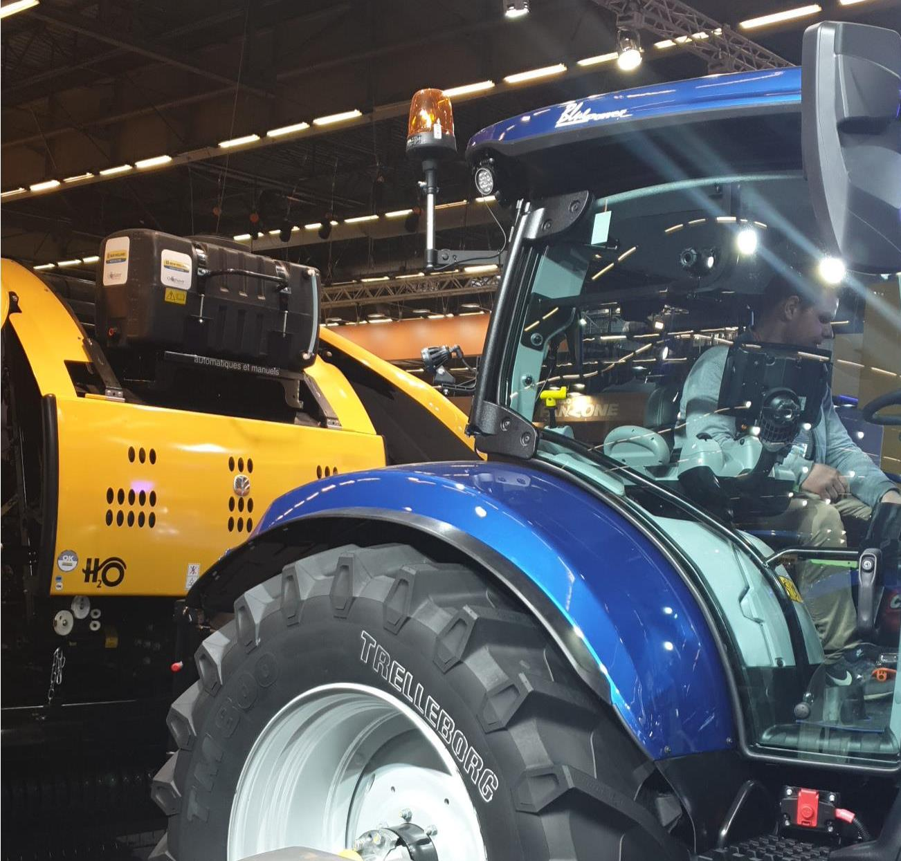 New Holland RB baler at SIMA Paris Show 2019